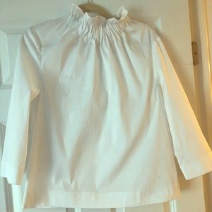 Tops - White blouse. Bought at Nordstrom's.